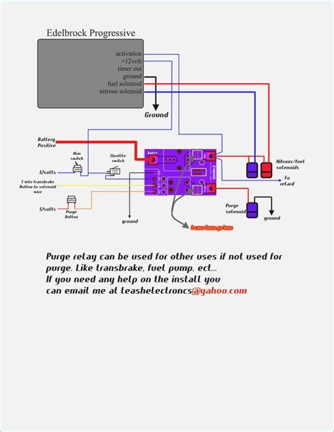 nitrous relay wiring diagram wiring diagram