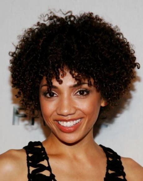pictures of black women with natural curls and a devastyle cut natural curly hairstyles for black women