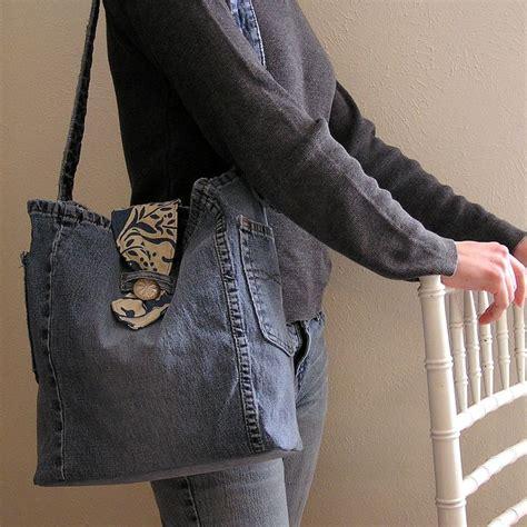 upcycled denim upcycled denim purse satchel upcycling jean deninm