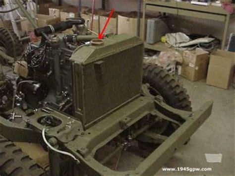 ww2 jeep engine g503 wwii jeep configuration of go engine