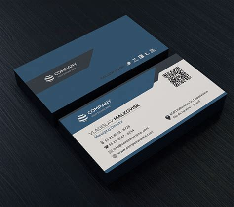 business card clean template design modern business cards psd templates design graphic