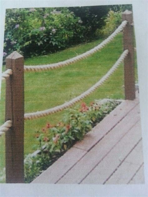 rope railing future cottage