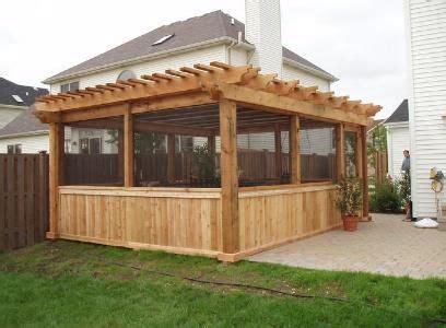 summer roofing largo enclosed pergola garden pergolas patios