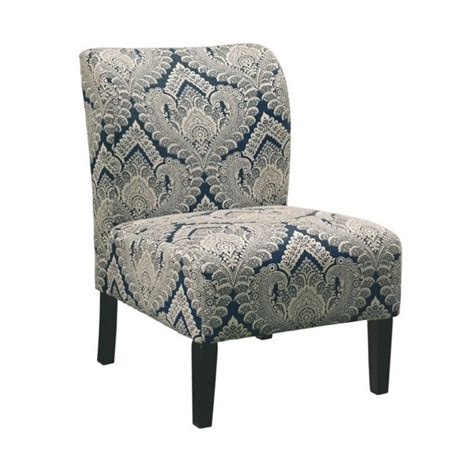 accent chairs ashley furniture ashley furniture fabric ashley honnally fabric accent chair in sapphire 5330360