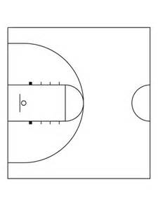 Basketball Half Court Template by Half Court Basketball New Calendar Template Site