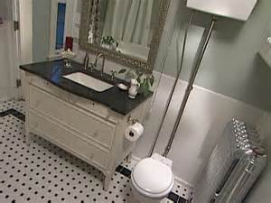 Faux Wainscot Mosaic Tile In Bathroom Floor Flooring Ideas Floor