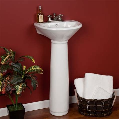 farnham porcelain mini pedestal sink 1000 images about walk in shower sunken tub on