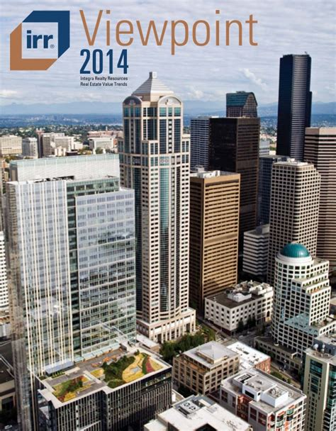 irr view point for 2014 real estate value trends usa