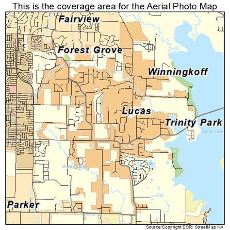 lucas texas map aerial photography map of lucas tx texas