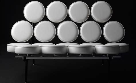 herman miller marshmallow sofa george nelson marshmallow sofa hivemodern com