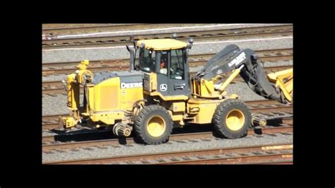 swing loader swing loader switching bnsf coal train youtube