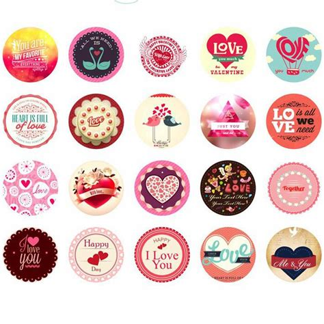 fashion red love heart wall stickers home decor life tree 1box about 38pcs paper sticker love heart red korean