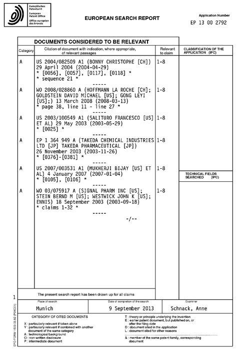 terminal report sle patent ep2650007a1 use of cell permeable peptide