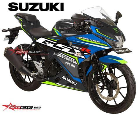 Stiker Suzuki Gsx 150 graphic kit stiker suzuki gsx r150 black blue rc motoblast