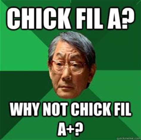 Chik Fil A Meme - asian dad meme kappit