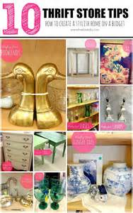 thrift store home decor ideas livelovediy my 10 thrift store shopping tips how to