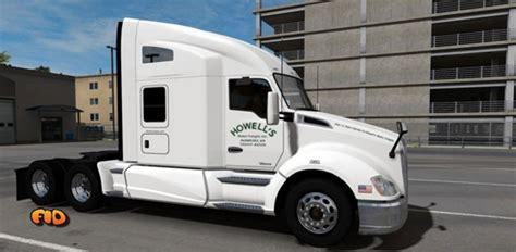 howells motor freight  skin mod american truck simulator mod ats mod