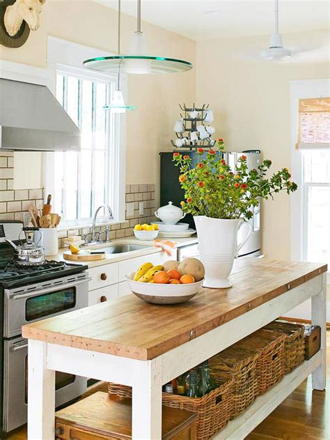 kitchen island butcher block top 12 freestanding kitchen islands the inspired room