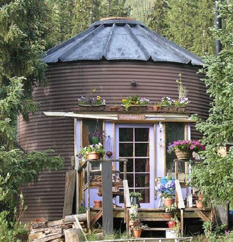 Grain Bin Shed by Silo Homes Nifty Homestead