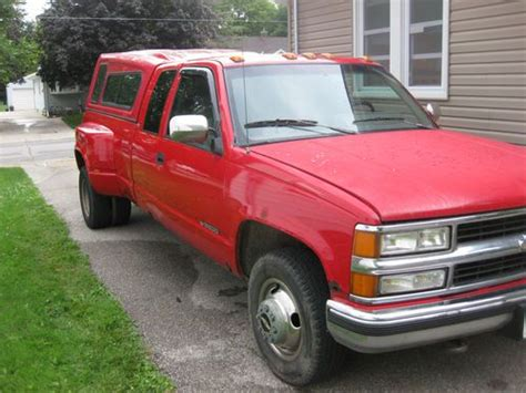 how do cars engines work 1994 chevrolet 3500 electronic valve timing sell used 1994 chevrolet c3500 dually truck 454 engine red in color great work truck in mason