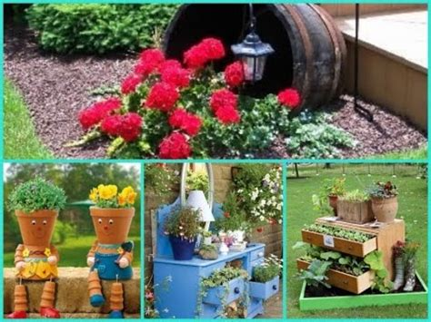 diy garden decorations decor cheap and easy ideas creative