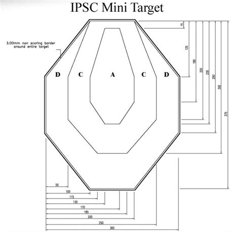 printable mini idpa targets dry fire idpa target related keywords suggestions dry