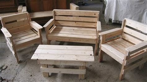 Pallet Patio Chair Build Wooden Patio Furniture Woodworking Plans