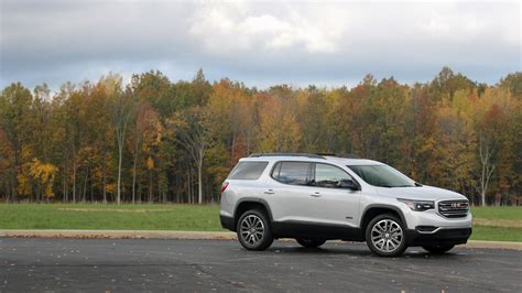 Gmc Arcadia Reviews by 2017 Gmc Acadia All Terrain Review