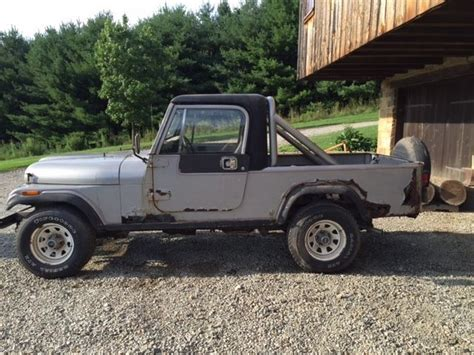 jeep scrambler 1982 1982 jeep scrambler cj8 project for sale jeep cj