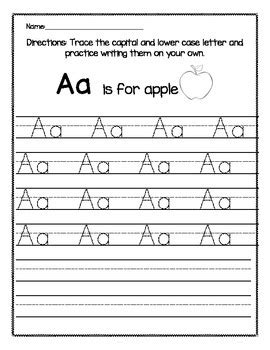 alphabet tracing uppercase and lowercase nuttin but common worksheets 187 lower case letter tracing preschool