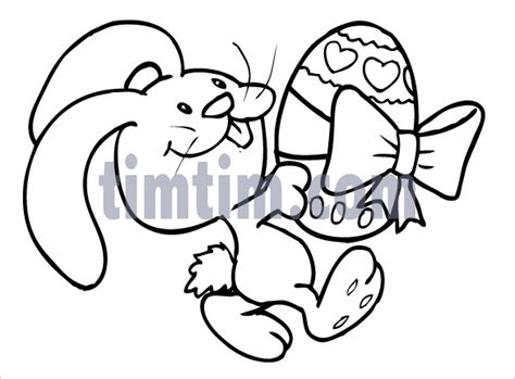 doodle draw easter bunny 21 easter drawings free psd vector eps png format