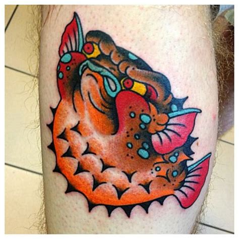 puffer fish tattoo 69 best tattoos by kasper images on
