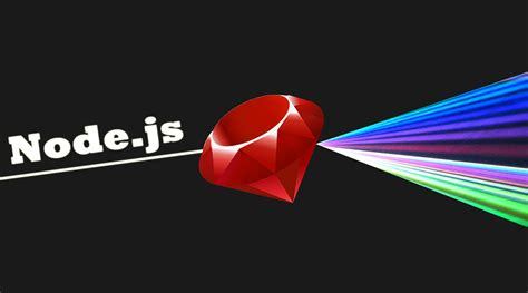 node js node js through the eyes of a ruby developer first