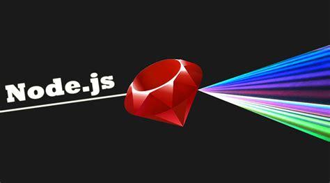 node js node js through the eyes of a ruby developer first