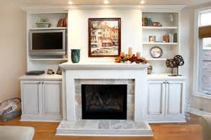 Fireplace Mantel Bookshelves by Storage And Shelves Built In Beside Fireplace Built In