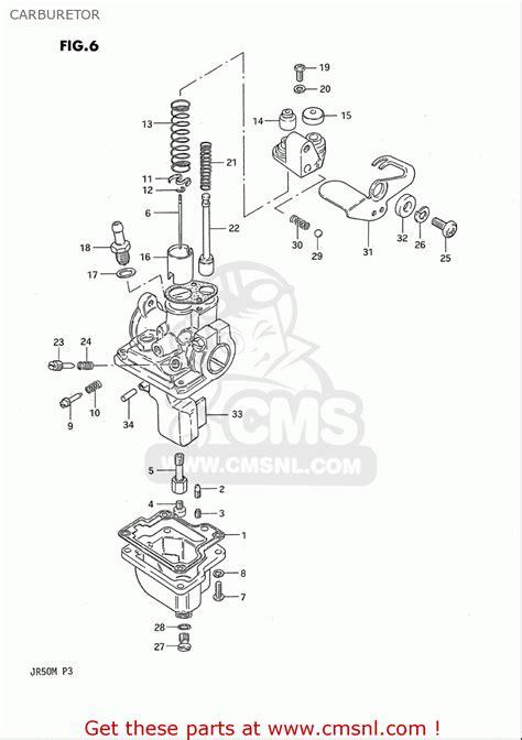 Suzuki Jr 50 Carburetor Diagram Suzuki Jr 50 Carburetor Adjustment