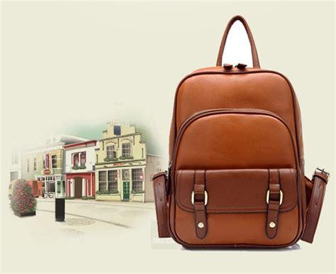 Ransel Kulit Bagpack Pria Dan Wanita Import Murah 1 tas ransel wanita kulit import model terbaru jual murah import kerja