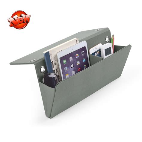 sofa caddy organizer bedside pocket bedside storage organizer caddy wall mount