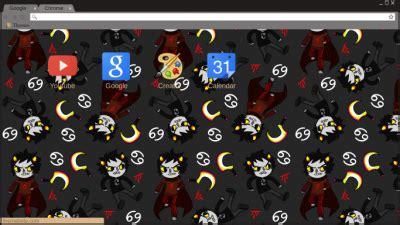 karkat vantas google chrome theme version 2 by homestuck chrome themes themebeta