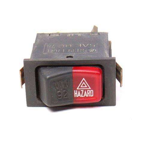 Bosch Gws060 Bearing Original 607 hazard flasher switch button 75 84 vw rabbit jetta mk1