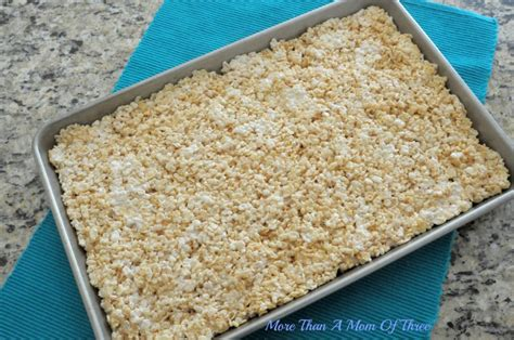 blue rice crispy treats