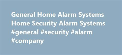 best 25 alarm system ideas on security
