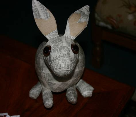 How To Make Paper Mache Rabbit - 3557465261 2cf84c9197 jpg