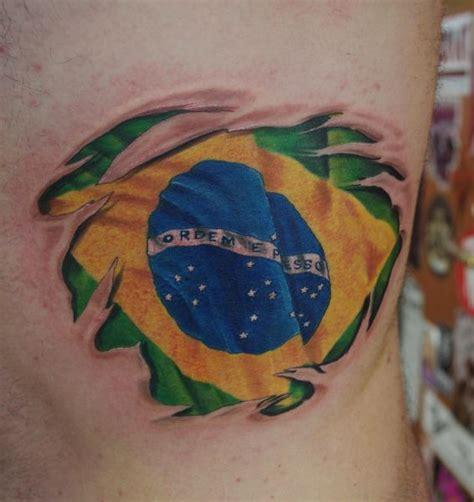 brazilian tribal tattoos brazil flag flag cool