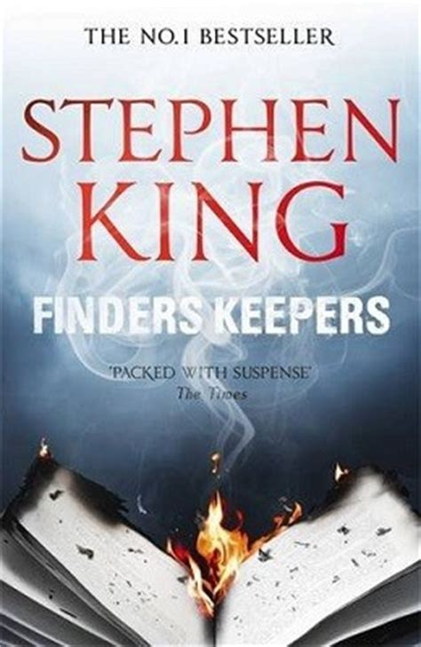 finders keepers books finders keepers by stephen king waterstones