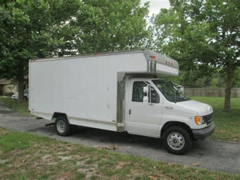 small engine repair training 2004 ford e series electronic valve timing buy used 1999 ford e 350 econoline cutaway box truck 5 4l very low mileage great shape in