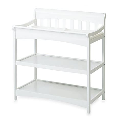 Mothers Choice Change Table Child Craft Coventry Changing Table In Matte White Buybuy Baby