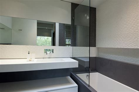 villa design californie salle bain epure