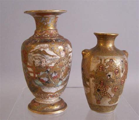 Japanese Satsuma Vase Value by Price Item Value Of Two Japanese Satsuma Vase Meiji