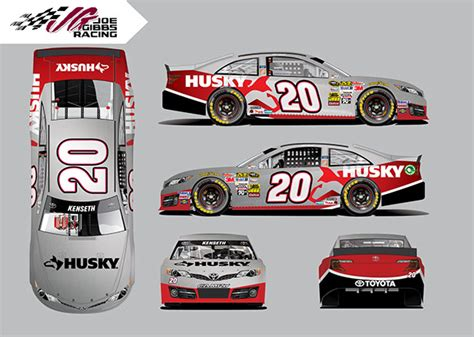 the home depot nascar racing wraps on behance